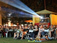 OPEN AIR RIVER CINEMA, KARLOVAC, JULY - AUGUST