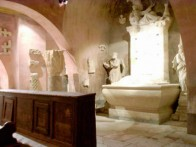 LAPIDARY - CRYPT IN CHURCH IN BALE, ISTRIA