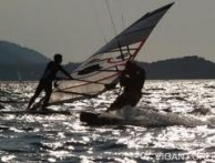 WINDSURFING IN VIGANJ