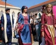 INTERNATIONAL MEDIEVAL FAIR IN ŠIBENIK, SEPTEMBER 2017.